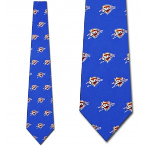 NBA Oklahoma City Thunder Prep Necktie