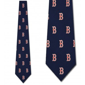 MLB Boston Red Sox Prep Necktie