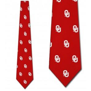 Oklahoma Sooners Prep Necktie