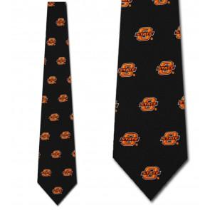 Oklahoma State Cowboys Prep Necktie