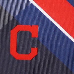 MLB Cleveland Indians Grid Necktie