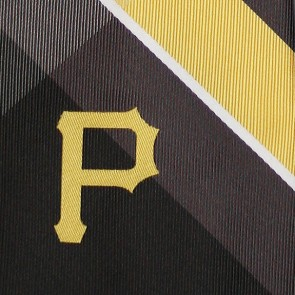 MLB Pittsburgh Pirates Grid Necktie