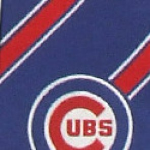 MLB Chicago Cubs Poly Stripe Necktie