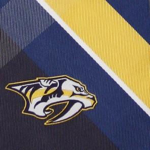 NHL Nashville Predators Grid Necktie