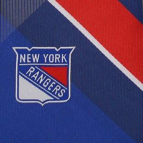NHL New York Rangers Grid Necktie