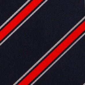 MLB Cleveland Indians Poly Stripe Necktie