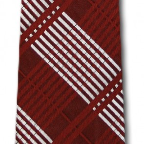 Mississippi State Skinny Plaid Necktie