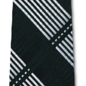 Michigan State Skinny Plaid Necktie