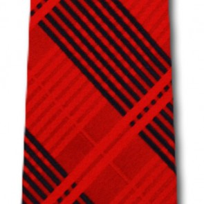 MLB St Louis Cardinals Skinny Plaid Necktie