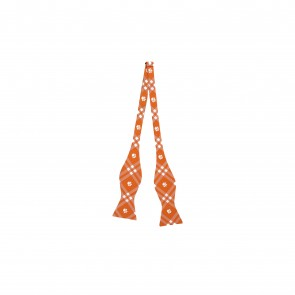 Clemson Tigers Self Tie Bow Tie
