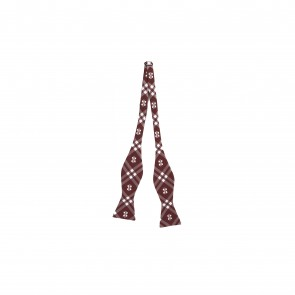 Mississippi State Bulldogs Self Tie Bow Tie