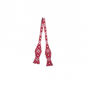 Wisconsin Badgers Self Tie Bow Tie