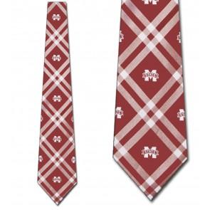 Mississippi State Rhodes Necktie
