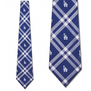 MLB Los Angeles Dodgers Rhodes Necktie