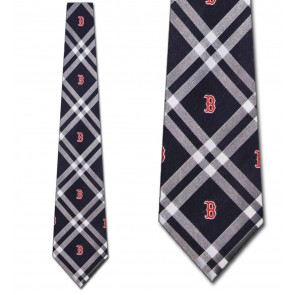 MLB Boston Red Sox Rhodes Necktie