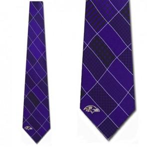 NFL Baltimore Ravens Patchwork Necktie
