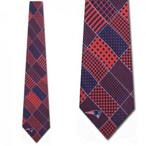 NFL New England Patriots Patchwork Necktie
