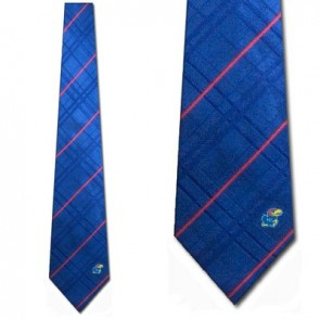 Kansas Jayhawks Oxford Necktie