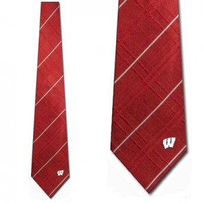 Wisconsin Badgers Oxford Necktie