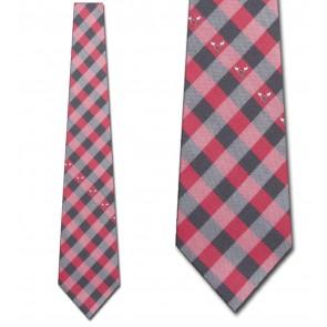 Chicago Bulls Woven Check Necktie