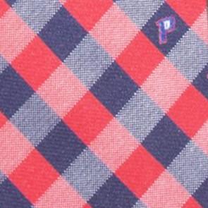 Detroit Pistons Woven Check Necktie
