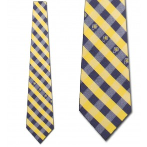 Indiana Pacers Woven Check Necktie