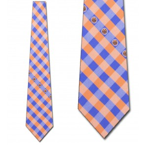 New York Knicks Woven Check Necktie
