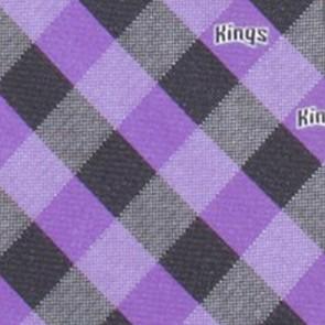 Sacramento Kings Woven Check Necktie