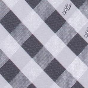 San Antonio Spurs Woven Check Necktie