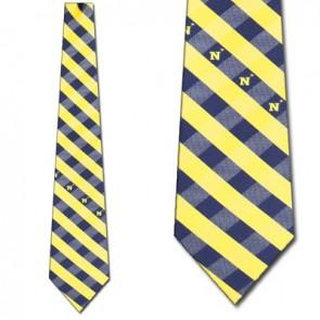 Naval Academy Woven Check Necktie