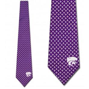 Kansas State Wildcats Diamante Necktie