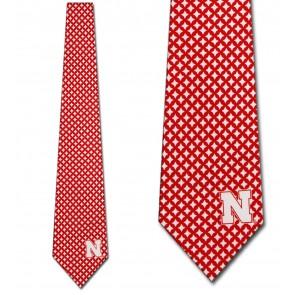 Nebraska Cornhuskers Diamante Necktie
