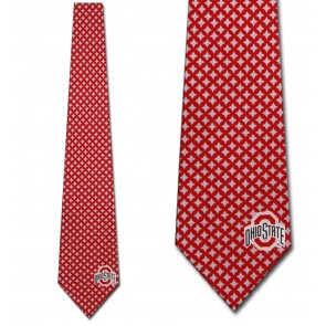 Ohio State Diamante Necktie
