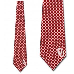 Oklahoma Sooners Diamante Necktie