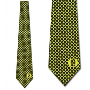 Oregon Ducks Diamante Necktie