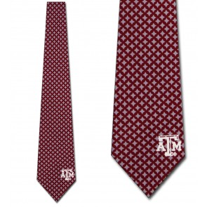 Texas A&M Diamante Necktie