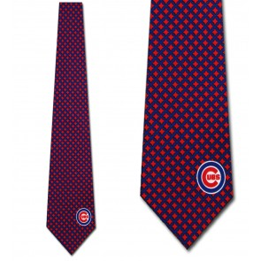 MLB Chicago Cubs Diamante Necktie