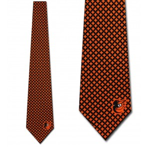 MLB  Baltimore Orioles Diamante Necktie