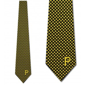 MLB Pittsburgh Pirates Diamante Necktie