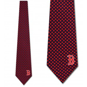 MLB Boston Red Sox Diamante Necktie