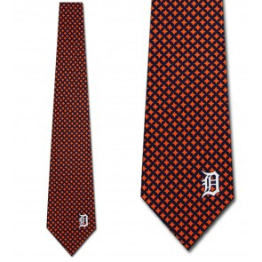 MLB Detroit Tigers Diamante Necktie