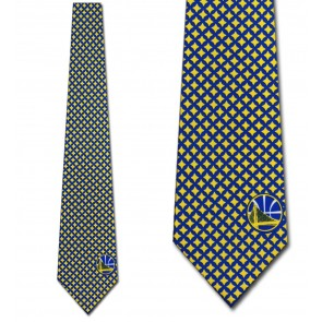 NBA Golden State Warriors Diamante Necktie