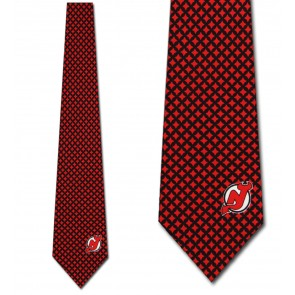 NHL New Jersey Devils Diamante Necktie