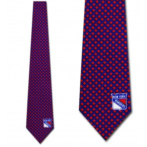 NHL New York Rangers Diamante Necktie