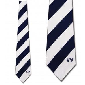 BYU Regiment Necktie