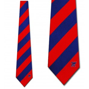 Ole Miss Regiment Necktie