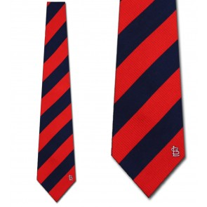 MLB St. Louis Cardinals Regiment Necktie