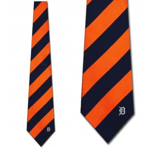 MLB Detroit Tigers Regiment Necktie