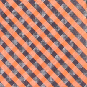 Illinois Fighting Illini Gingham Necktie