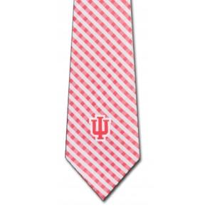 Indiana Hoosiers Gingham Necktie